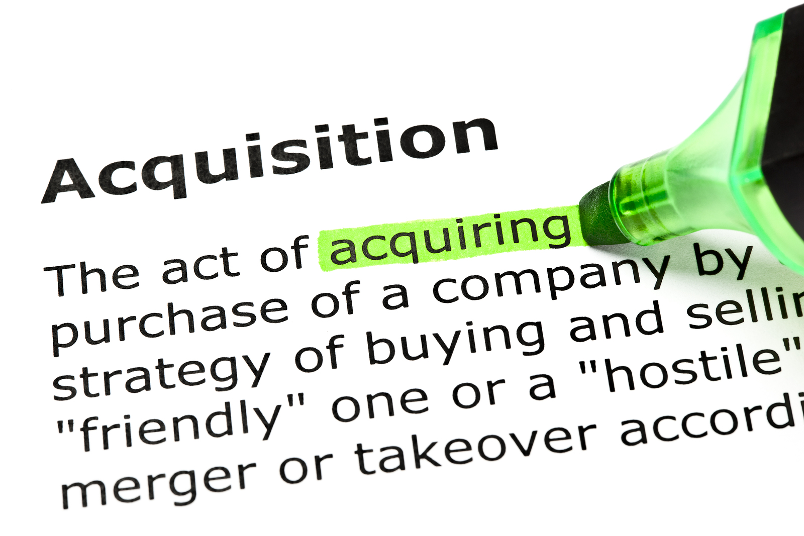 Acquisition Integration Plan Prepare For An