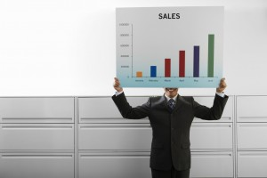 Sales training can help drive an increase in sales.