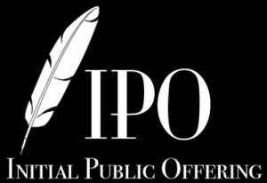 Graphic of Initial Public Offering