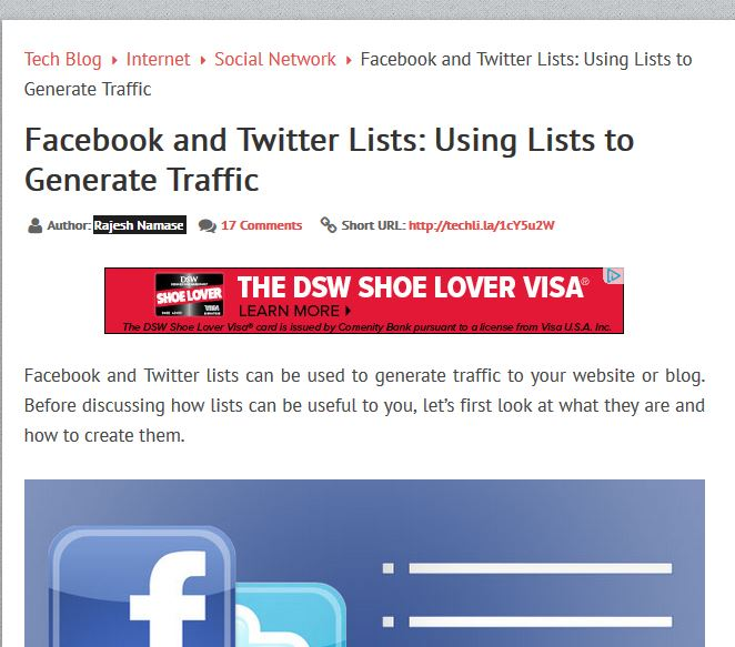 How to Create Facebook lists_capture