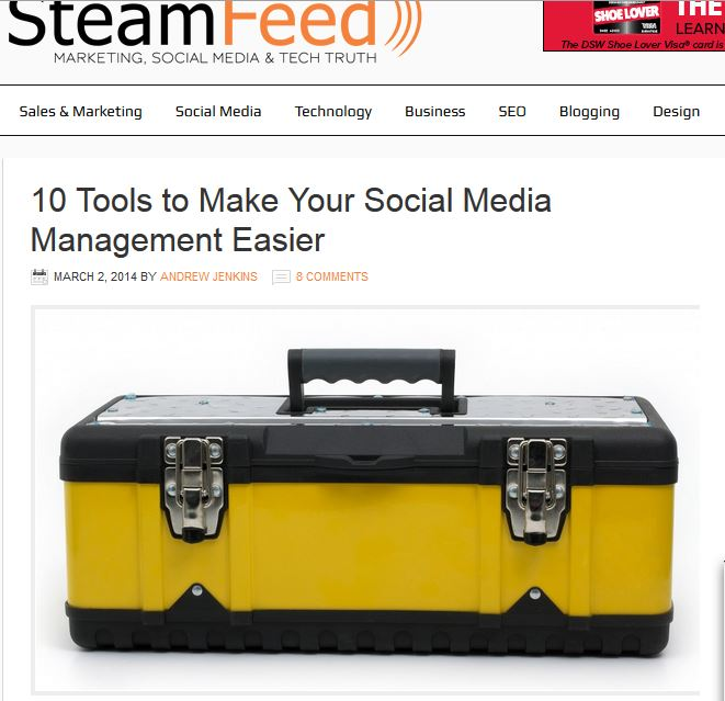 SteamFeed_social media tools_capture