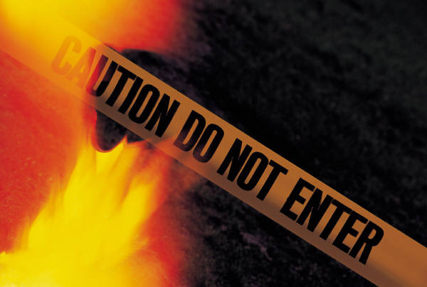 Fire - do not enter