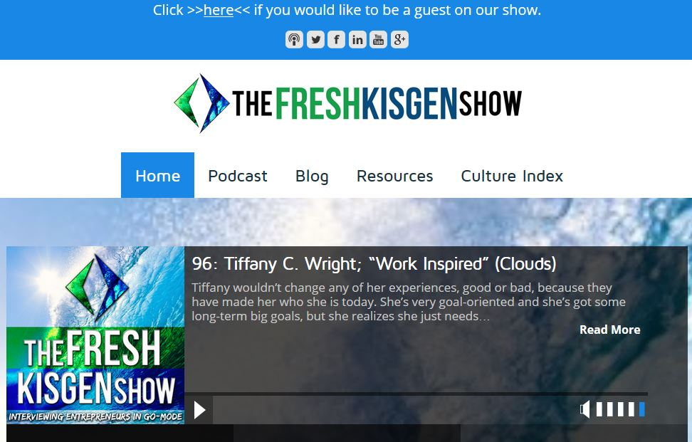 Fresh Kisgen podcast