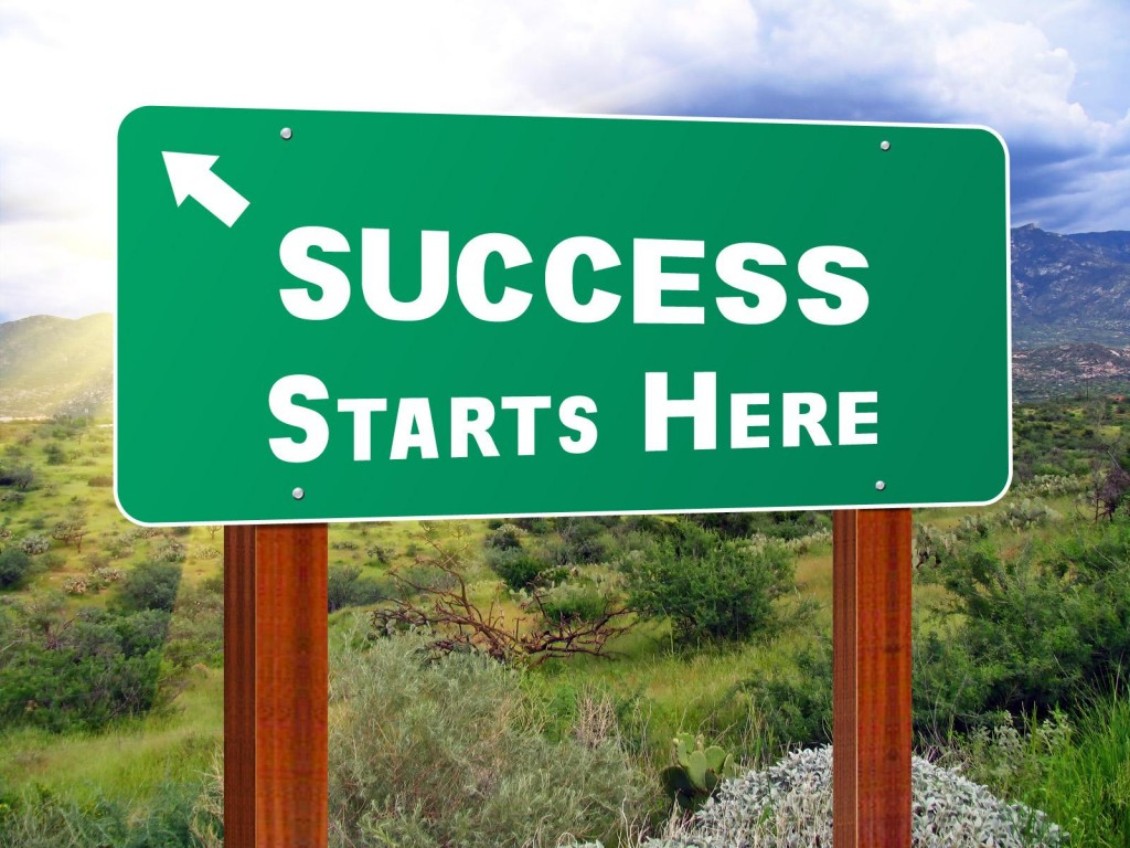 business marketing success begins here