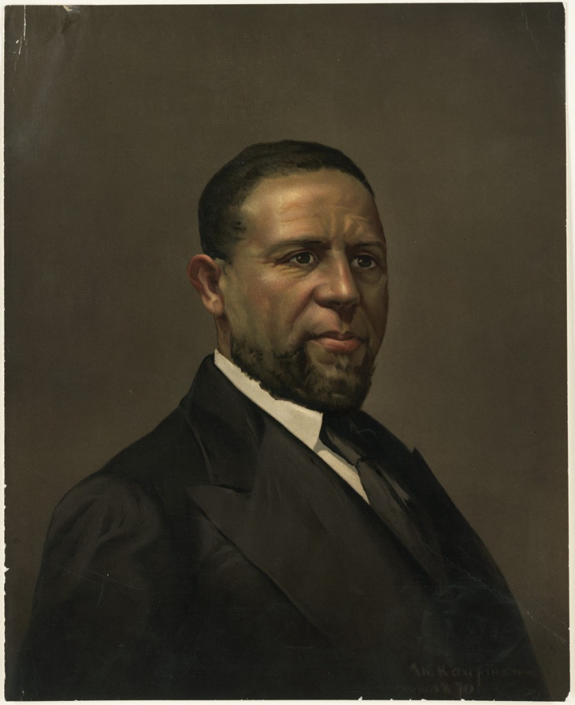 portrait of Senator Hiram Rhodes Revels