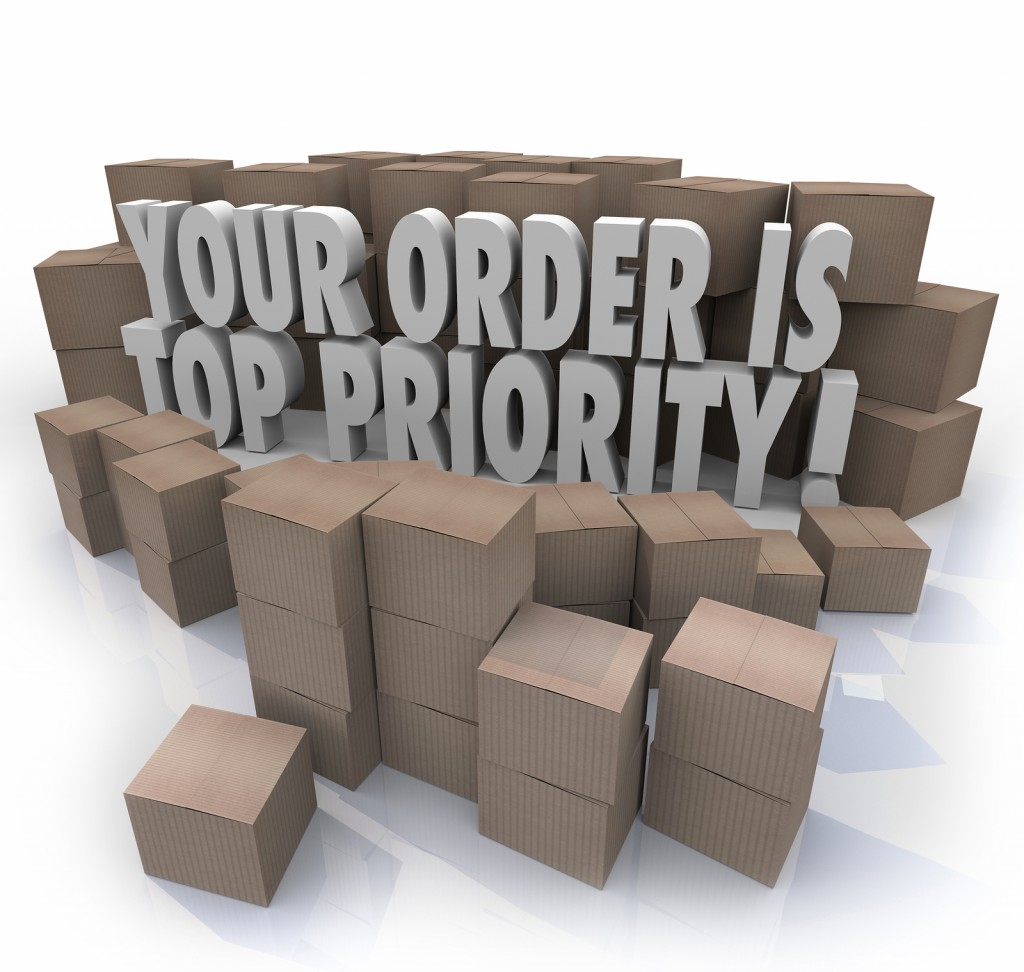 The best value is a fulfillment service that makes you a priority.