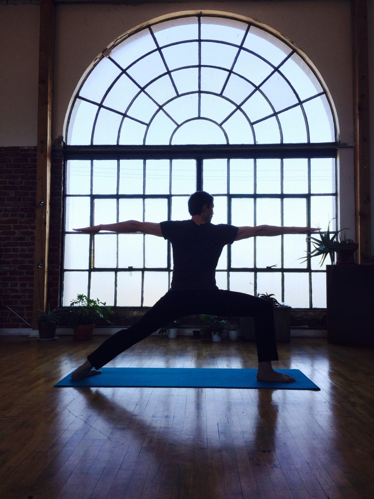 Rethink downtime via yoga