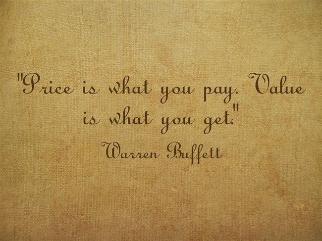 The price paid for a business does not necessarily reflect the business value.