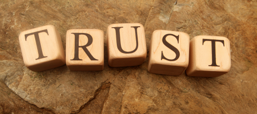 It takes time to build trust.