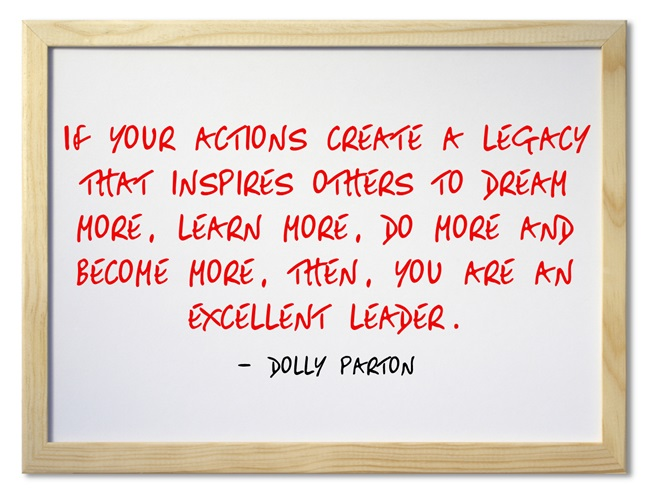 Dolly Parton, effective leadership quote